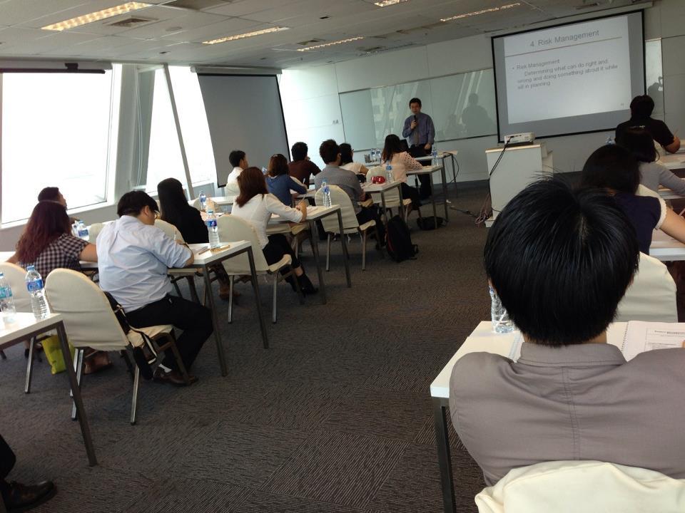 IMC Institute Training: Project Management Essentials 7-8 May 2013